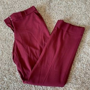 Burgundy Maurices Trousers Size 5/6